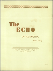 Page 5, 1930 Edition, Flemington High School - Echo Yearbook (Flemington, NJ) online yearbook collection