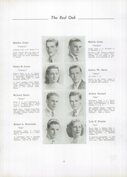 Page 16, 1942 Edition, Mount Holly High School - Red Oak Yearbook (Mount Holly, NJ) online yearbook collection