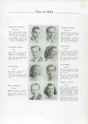 Page 17, 1942 Edition, Mount Holly High School - Red Oak Yearbook (Mount Holly, NJ) online yearbook collection