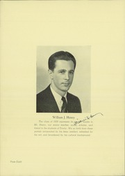 Page 10, 1939 Edition, Holy Trinity High School - Trinitarian Yearbook (Hackensack, NJ) online yearbook collection