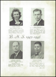 Page 11, 1948 Edition, Blairstown High School - Amicitiae Yearbook (Blairstown, NJ) online yearbook collection