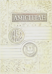 1952 Edition, Blairstown High School - Amicitiae Yearbook (Blairstown, NJ)