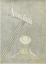 1958 Edition, Blairstown High School - Amicitiae Yearbook (Blairstown, NJ)