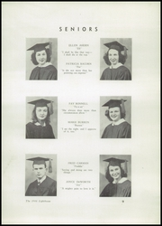 Page 11, 1946 Edition, Barnegat High School - Lighthouse Yearbook (Barnegat, NJ) online yearbook collection