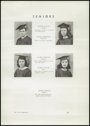 Page 13, 1946 Edition, Barnegat High School - Lighthouse Yearbook (Barnegat, NJ) online yearbook collection