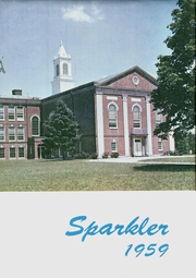 1959 Edition, Swedesboro High School - Sparkler Yearbook (Swedesboro, NJ)