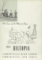 Page 5, 1947 Edition, Lambertville High School - Hiltopia Yearbook (Lambertville, NJ) online yearbook collection