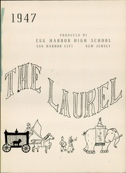 Page 5, 1947 Edition, Egg Harbor High School - Laurel Yearbook (Egg Harbor City, NJ) online yearbook collection