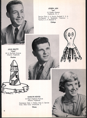Page 15, 1956 Edition, Atlantic Highlands High School - Atrecall Yearbook (Atlantic Highlands, NJ) online yearbook collection