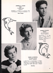 Page 17, 1956 Edition, Atlantic Highlands High School - Atrecall Yearbook (Atlantic Highlands, NJ) online yearbook collection