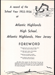 Page 6, 1956 Edition, Atlantic Highlands High School - Atrecall Yearbook (Atlantic Highlands, NJ) online yearbook collection