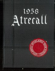 Page 1, 1958 Edition, Atlantic Highlands High School - Atrecall Yearbook (Atlantic Highlands, NJ) online yearbook collection