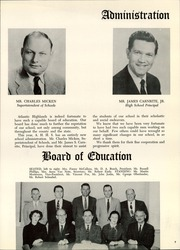 Page 11, 1958 Edition, Atlantic Highlands High School - Atrecall Yearbook (Atlantic Highlands, NJ) online yearbook collection
