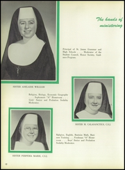 Page 16, 1960 Edition, St James High School - Golden Ray Yearbook (Penns Grove, NJ) online yearbook collection