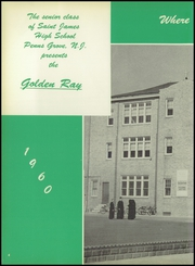 Page 8, 1960 Edition, St James High School - Golden Ray Yearbook (Penns Grove, NJ) online yearbook collection
