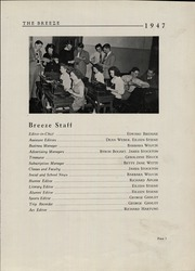 Page 11, 1947 Edition, Hampton High School - Breeze Yearbook (Hampton, NJ) online yearbook collection