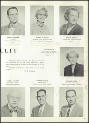 Page 11, 1957 Edition, Wardlaw School - Maroon and Gold Yearbook (Plainfield, NJ) online yearbook collection