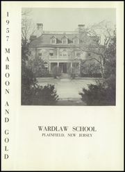Page 5, 1957 Edition, Wardlaw School - Maroon and Gold Yearbook (Plainfield, NJ) online yearbook collection