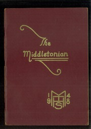 Page 1, 1948 Edition, Middle Township High School - Middletonian Yearbook (Cape May Court House, NJ) online yearbook collection