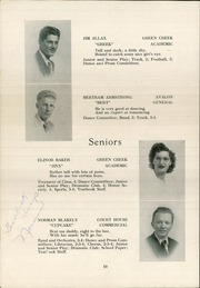 Page 12, 1948 Edition, Middle Township High School - Middletonian Yearbook (Cape May Court House, NJ) online yearbook collection