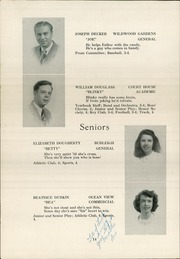 Page 16, 1948 Edition, Middle Township High School - Middletonian Yearbook (Cape May Court House, NJ) online yearbook collection
