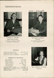 Page 7, 1948 Edition, Middle Township High School - Middletonian Yearbook (Cape May Court House, NJ) online yearbook collection