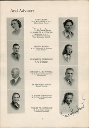 Page 9, 1948 Edition, Middle Township High School - Middletonian Yearbook (Cape May Court House, NJ) online yearbook collection