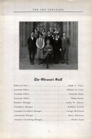 Page 6, 1925 Edition, Middletown Township High School - Odranoel Yearbook (Middletown, NJ) online yearbook collection