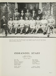 Page 15, 1943 Edition, Middletown Township High School - Odranoel Yearbook (Middletown, NJ) online yearbook collection