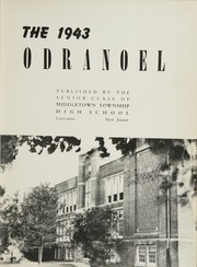 Page 7, 1943 Edition, Middletown Township High School - Odranoel Yearbook (Middletown, NJ) online yearbook collection