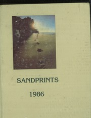 1986 Edition, Carl Sandburg Middle School - Sandprints (Old Bridge, NJ)