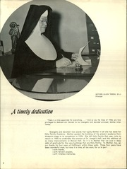 Page 6, 1966 Edition, Holy Family Academy - Harvest Yearbook (Bayonne, NJ) online yearbook collection