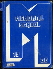 1986 Edition, Memorial Middle School - Yearbook (Union Beach, NJ)
