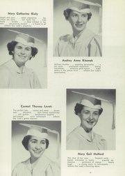 Page 17, 1952 Edition, Mount Saint Mary Academy - Mountain Chimes Yearbook (Plainfield, NJ) online yearbook collection