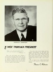 Page 10, 1954 Edition, Rowan College - Oak Yearbook (Glassboro, NJ) online yearbook collection