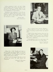 Page 11, 1954 Edition, Rowan College - Oak Yearbook (Glassboro, NJ) online yearbook collection