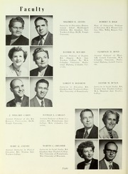Page 12, 1954 Edition, Rowan College - Oak Yearbook (Glassboro, NJ) online yearbook collection