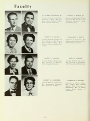 Page 14, 1954 Edition, Rowan College - Oak Yearbook (Glassboro, NJ) online yearbook collection