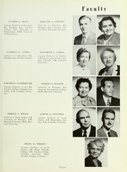 Page 15, 1954 Edition, Rowan College - Oak Yearbook (Glassboro, NJ) online yearbook collection