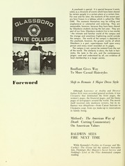 Page 8, 1964 Edition, Rowan College - Oak Yearbook (Glassboro, NJ) online yearbook collection