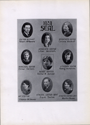 Page 8, 1929 Edition, New Jersey State Teachers College - Seal Yearbook (Trenton, NJ) online yearbook collection
