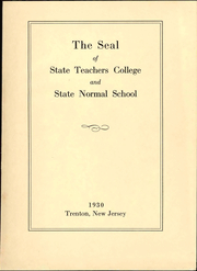 Page 7, 1930 Edition, New Jersey State Teachers College - Seal Yearbook (Trenton, NJ) online yearbook collection