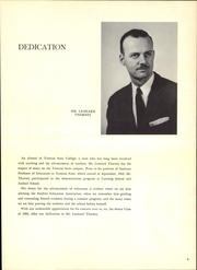 Page 9, 1966 Edition, New Jersey State Teachers College - Seal Yearbook (Trenton, NJ) online yearbook collection