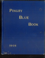 Page 1, 1908 Edition, Pingry School - Blue Book Yearbook (Elizabeth, NJ) online yearbook collection