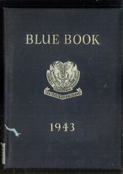 1943 Edition, Pingry School - Blue Book Yearbook (Elizabeth, NJ)