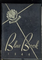 1944 Edition, Pingry School - Blue Book Yearbook (Elizabeth, NJ)