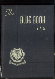 1945 Edition, Pingry School - Blue Book Yearbook (Elizabeth, NJ)