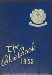 1952 Edition, Pingry School - Blue Book Yearbook (Elizabeth, NJ)