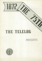 Page 6, 1947 Edition, St Benedicts Preparatory School - Telolog Yearbook (Newark, NJ) online yearbook collection