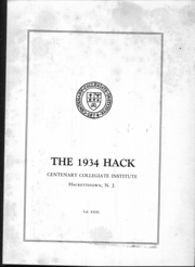 Page 7, 1934 Edition, Centenary College - Hack Yearbook (Hackettstown, NJ) online yearbook collection